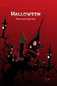 Tapeta na halloween — Wektor stockowy