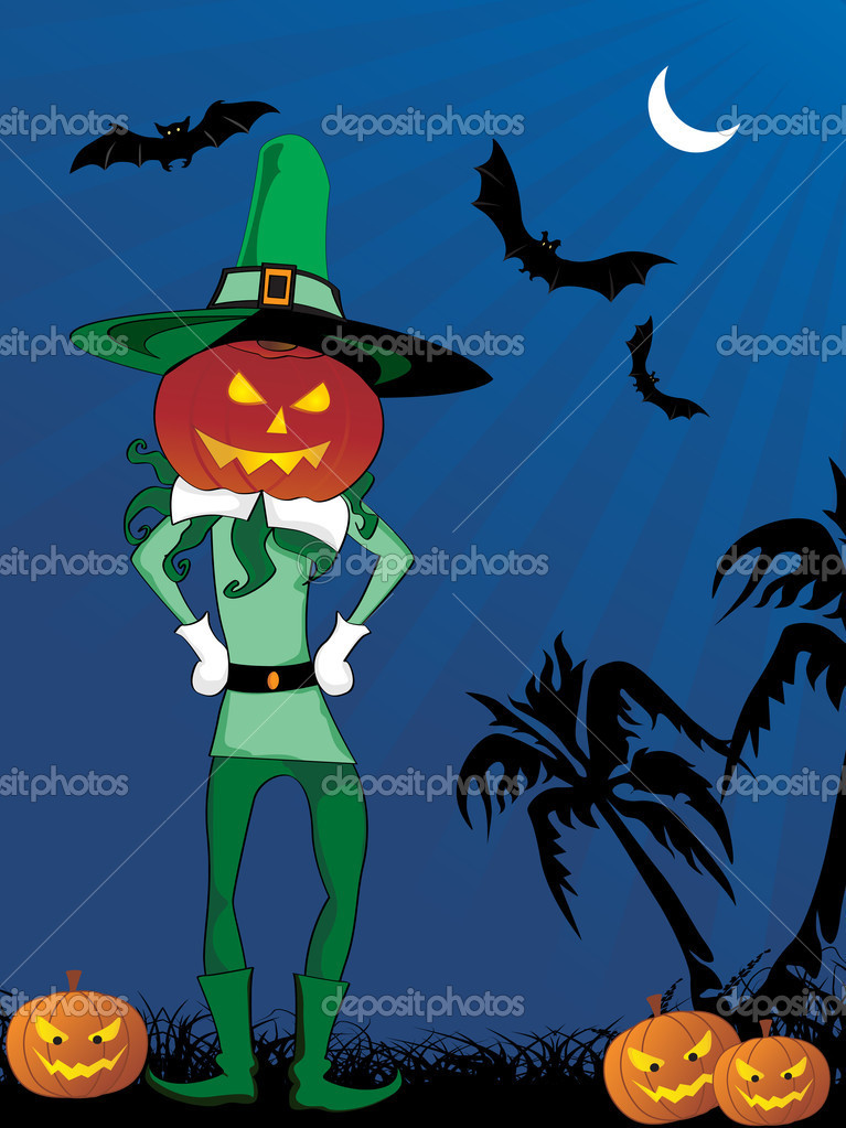 Stylish pattern background for halloween, vector illustration — Stock Photo #2785570