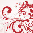 Royalty-Free Stock Vector Image: Red creative artwork illustration