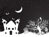 Cadılar bayramı için duvar kağıdı — Stok Vektör