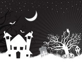 Wallpaper für halloween — Stockvektor