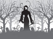 Wallpaper für halloween — Stockvektor