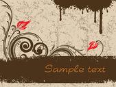 Textuur achtergrond met wervelingen — Stockvector