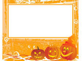 Grunge halloween background — Stock Vector