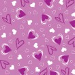 Purple heart background — Stock Vector