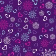 Valentine day wallpaper - Stockvektor