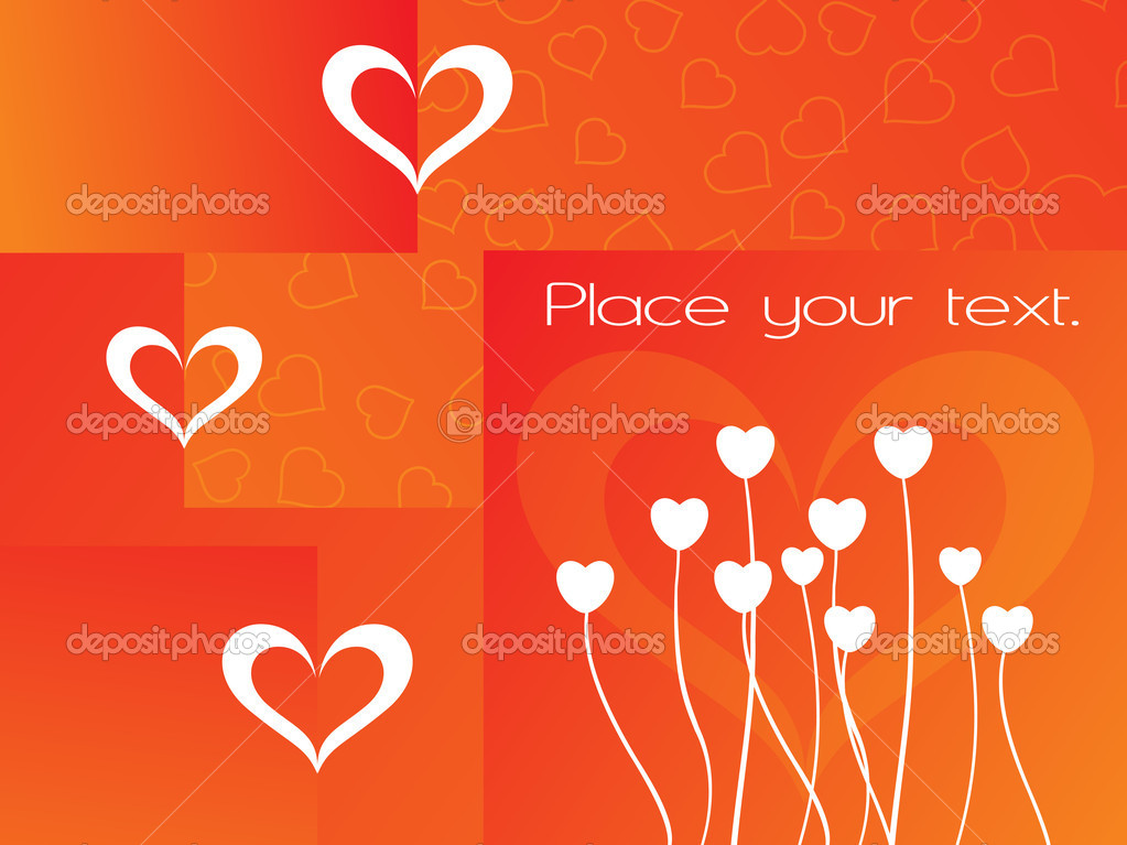 Abstract orange macro background with place for text — Image vectorielle #2798026