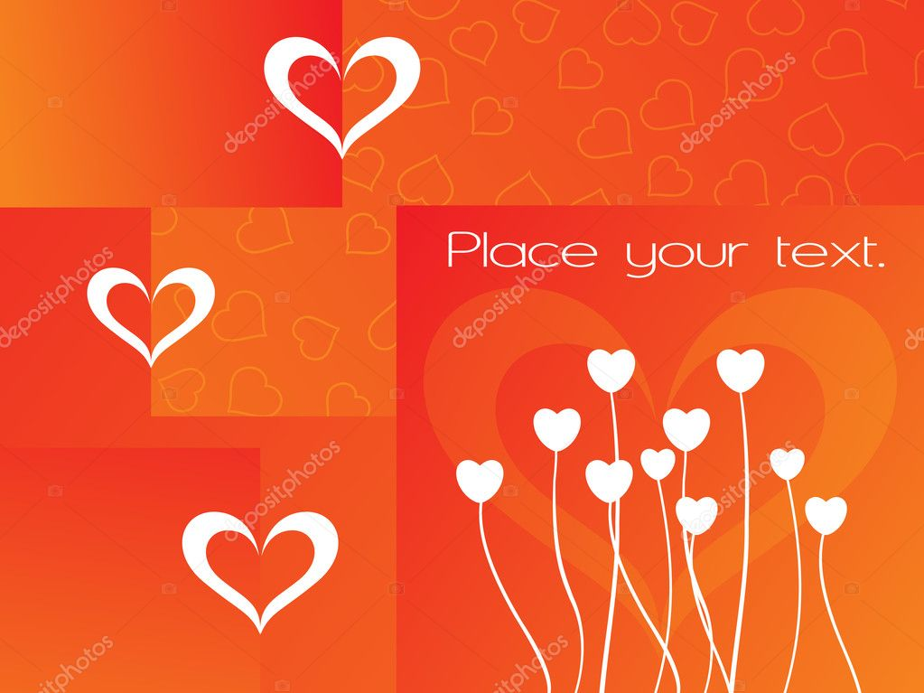 Abstract orange macro background with place for text — Imagen vectorial #2798026