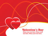 Abstract valentine day background — Stock Vector