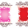 Illustration of valentine day frame — Stock Vector