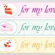 Valentine web banner — Stock Vector #2817732