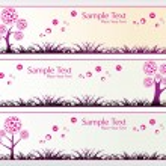 Vector valentine banner — Stock Vector