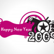 Year 2009 background — Image vectorielle