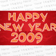 Wallpaper, year 2009 background — Vector de stock #2819729
