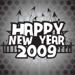 Wallpaper, year 2009 background — Vector de stock #2819751
