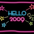 Year 2009 background — Vector de stock #2819889