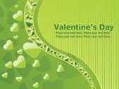 Halftone pattern valentine day card — Stock Vector