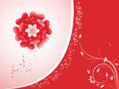 Valentines greeting theme — Stock Vector
