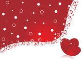 Halftone pattern romantic background — Stock Vector