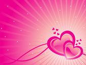Romantic day background — Stock Vector