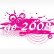 Wallpaper, year 2009 series - Imagen vectorial