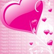 Wallpaper for valentine day - Imagens vectoriais em stock