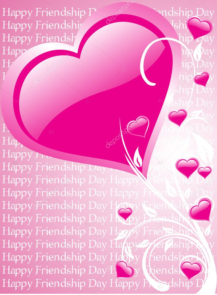 Valentine day background, vector wallpaper  Imagen vectorial #2868564