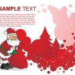 Santa claus with his gift bag — Stock Vector #2897440