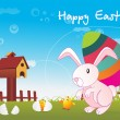 Royalty-Free Stock Vector Image: Easter day wallpaper