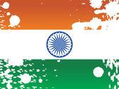Výstřední státní vlajka, ilustrace — Stock vektor