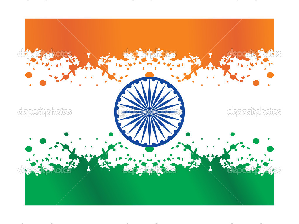 Indian National Flag Pictures Grungy Indian National Flag
