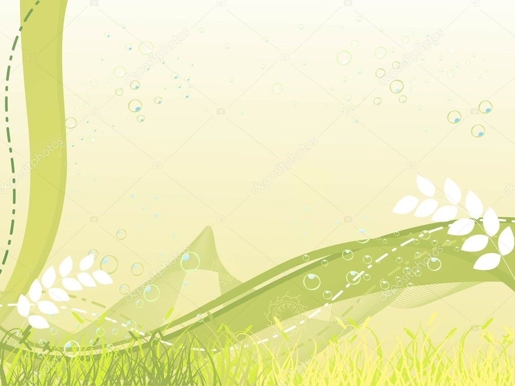 Nature theme background stock vector alliesinteract for Ideanature