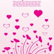 Vector de stock : Pink design with swirl illustration