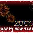 Stock Vector: New year 2009 banner, design25