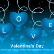 Vector valentine's day card — Image vectorielle
