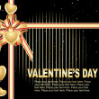 Beautiful design valentine card — Vector de stock #2916877