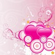 Vector illustration for valentine day — Vector de stock #2917738