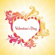 Vector illustration for valentine day — Stockvectorbeeld