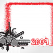 Stock Vector: New year 2009 banner, design49