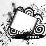 New year 2009 banner, design6 — Stock Vector