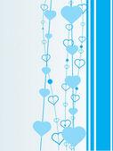 Skyblue background illustration — Stock Vector