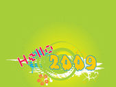 New year 2009 banner, design30 — Stock Vector