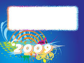 New year 2009 banner, design29 — Stockvektor