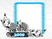 New year 2009 banner, design36 — Stock Vector
