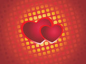 Abstract set of love background — 图库矢量图片