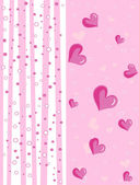 Vektor valentine kort illustration — Stockvektor
