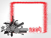New year 2009 banner, design49 — Stockvektor