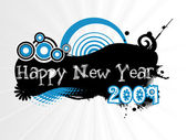New year 2009 banner, design2 — Stock Vector