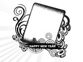 New year 2009 banner, design11 — Stock Vector