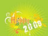 Bannière de nouvel an 2009, design32 — Vecteur